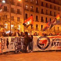"""[Espanha] O """"No Pasarán"""" volta a retumbar nas ruas de Madrid"""