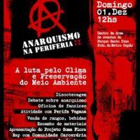 [São Paulo-SP] Anarquismo na Periferia II | A luta pelo clima e meio ambiente