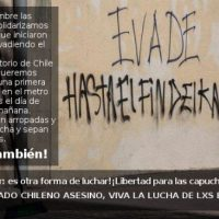 [Espanha] Chamado a evadir e evasão no Metrô de Madrid em solidariedade com a revolta chilena