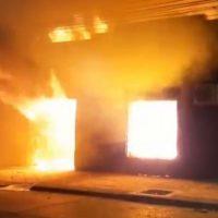 [Chile] Sede do partido de extrema-direita UDI é incendiada na cidade de Talca