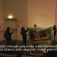 [Portugal] Vídeo | Ação por Rojava em Lisboa