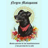 """[Chile] """"O Santo Patrono dos protestos sociais"""": a luta viral para instalar a estátua do """"Negro Matapacos"""" na Praça Itália, o coração da explosão social"""
