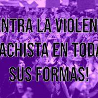 [Chile] Contra a violência machista em todas as suas formas!