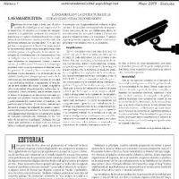 """[Espanha] Periódico """"Contra Toda Nocividad"""" Nº1"""