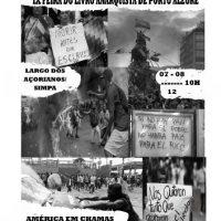 Confira a programação da IX Feira do Livro Anarquista de Porto Alegre (RS)