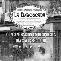 [Espanha] Ameaça de despejo da okupa anarquista La Emboscada