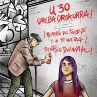 [Espanha] 30 de janeiro. Greve geral em Euskal Herria
