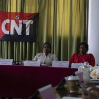 Sindicatos do setor têxtil unem forças na Conferência Internacional realizada em Colombo, Sri Lanka