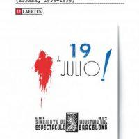 """[Espanha] Lançamento: """"Arte, espectáculos y propaganda bajo el signo libertario (España, 1936-1939)"""", de Emeterio Diez Puertas"""