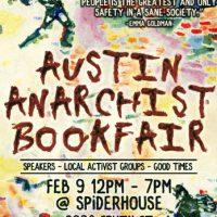[EUA] Anunciamos a Feira do Livro Anarquista de Austin de 2020