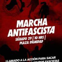 [Chile] Marcha Antifascista em Santiago