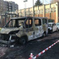 [Itália] Incêndio Criminoso na Escola da Polícia Local