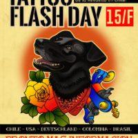 Tatto Flash Day: Campanha internacional em solidariedade com os preses da revolta no Chile – 15 de fevereiro