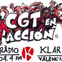 [Espanha] Rádio Klara: Capítulo número 28 da CGT em ação