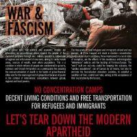 [Grécia] Cartaz | Vamos Derrubar o Apartheid Moderno
