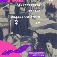 [Chile] Convocatória Bloco Anarcofeminista 8M
