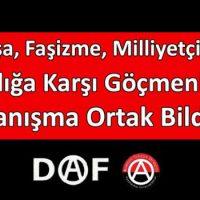 [Grécia-Turquia] Declaração comum da APO e da DAF contra a guerra, o fascismo e o racismo, em solidariedade com xs refugiadxs e imigrantes!