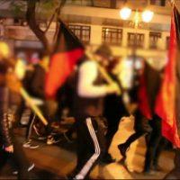"""[Grécia] Vídeo   """"Não há meio termo. Ou com os fascistas ou com os humanos"""": Protesto de solidariedade com xs migrantes"""