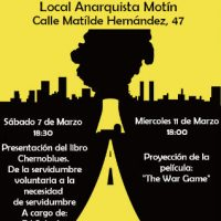 [Espanha] Jornadas contra a sociedade nuclear