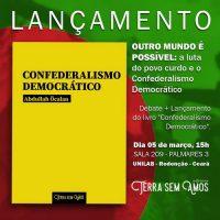 "Já está a venda o livro ""Confederalismo Democrático"", de Abdullah Öcalan"
