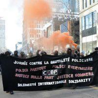 [Canadá] Montreal: Manifestação Contra a Brutalidade Policial