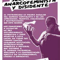 [Internacional] Convocatória por um março subversivo, anarcofeminista e dissidente