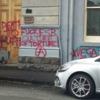 [Austrália] Melbourne: Ações durante a semana de solidariedade a presos e presas anarquistas e antifascistas alvos da repressão na Rússia
