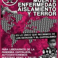[Chile] Miséria, repressão, morte, doença, isolamento e terror: é a única coisa que recebemos dos estados e do capitalismo
