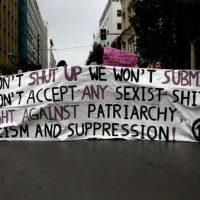 [Grécia] Luta contra o patriarcado, o fascismo e a autoridade