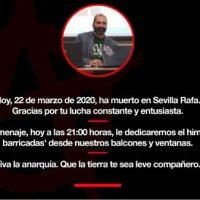 [Espanha] Rafael Estévez, 'Rafa Rinconada', o perseverante anarquista, investigador histórico e antifascista