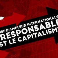 [França] Uma crise de proporções internacionais: o responsável é o capitalismo!