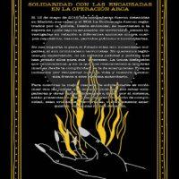 [Espanha] Surge o grupo de apoio Quemando Arcas