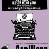 [Chile] Tua palavra nossa melhor arma: convocatória aberta para enviar colaborações à Revista Arpillera