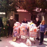 [Grécia] Atenas: Informações da coleta de alimentos e itens de necessidades básicas