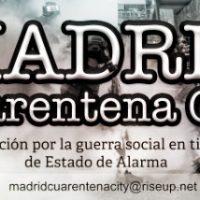 """[Espanha] Saiu """"Madrid Cuarentena City"""" N° 2"""