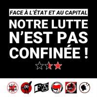 [França] Perante o Estado e o capital, nossa luta não está confinada!