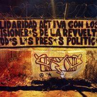 [Chile] Jornada de agitação pela liberdade dos presos políticos da Revolta