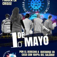 1º de Maio: Dia histórico e de luta internacional da classe trabalhadora