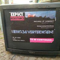 [Alemanha] Liebig34: Declaração da sentença dia 30 de abril, façamos um desastre!