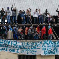 [Argentina] Vídeo: Presos fazem motim para exigir medidas contra a Covid-19
