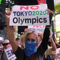 [Japão] Tóquio: Os japoneses furiosos em aliança com o coronavírus