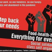 [Grécia] Contra a pandemia e os crimes em andamento do capitalismo e do Estado