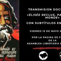"[Chile] Transmissão online do documentário ""Élisée Reclus, Passion du Monde"""