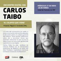 [Espanha] 27 de maio. Encontro digital com Carlos Taibo