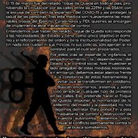 [Chile] Cartaz | O Estado não cuida de você... Ele controla e observa você