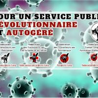 [França] Diante da crise sanitária... por um serviço público revolucionário e autogestionado