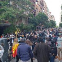 [Espanha] Dedicado aos que se manifestam no bairro superchic de Madrid