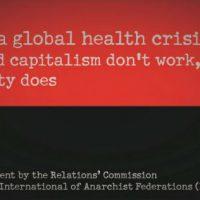 [Internacional] Enfrentar uma crise de saúde global: o Estado e o capitalismo não funcionam, mas a solidariedade sim