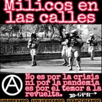 [Chile] Fim à militarização   Luta, Solidariedade e Organização