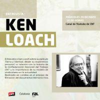 [Espanha] Quarta-feira, 20 de maio: entrevista com o diretor Ken Loach